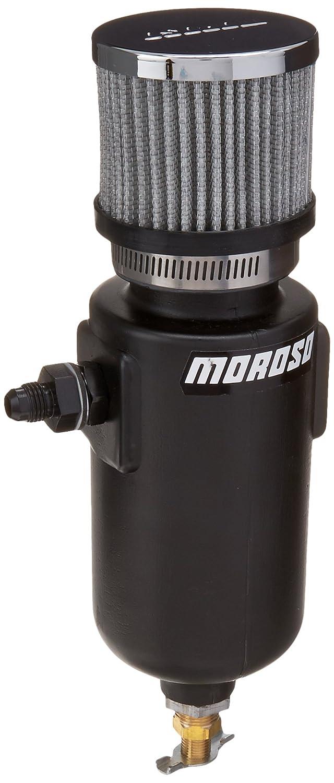 Moroso 85406 6AN Fitting Breather Tank - 1 Quart Capacity 71Y2ArGsQJL