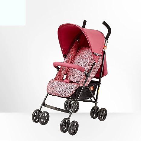 Puede sentarse en cuatro estaciones coche de paraguas ligero, cochecito de bebé, bebé plegable