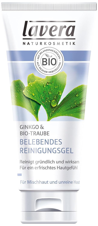 Lavera Invigorating Gel Limpiador 100ml uva y Ginkgo CARAS 102953
