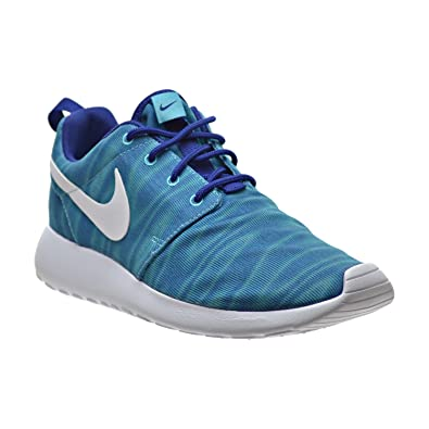 the best attitude 7a7f1 5b072 Amazon.com   NIKE Roshe One Print Women s Shoes Gamma Blue White Deep Royal  599432-415   Road Running