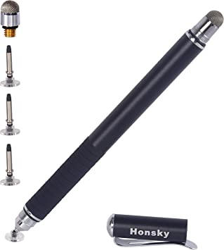 Black 3x Universal Touch Screen Capacitive Stylus Pen
