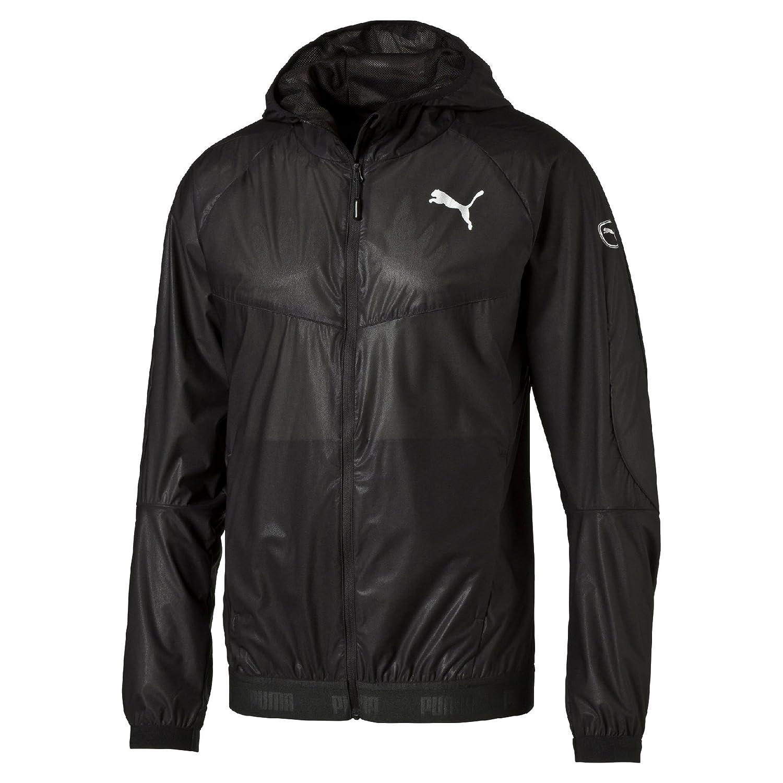 Puma Active Storm Chaqueta para Correr–Mediana, Color Negro 83864401M 838644_1-M