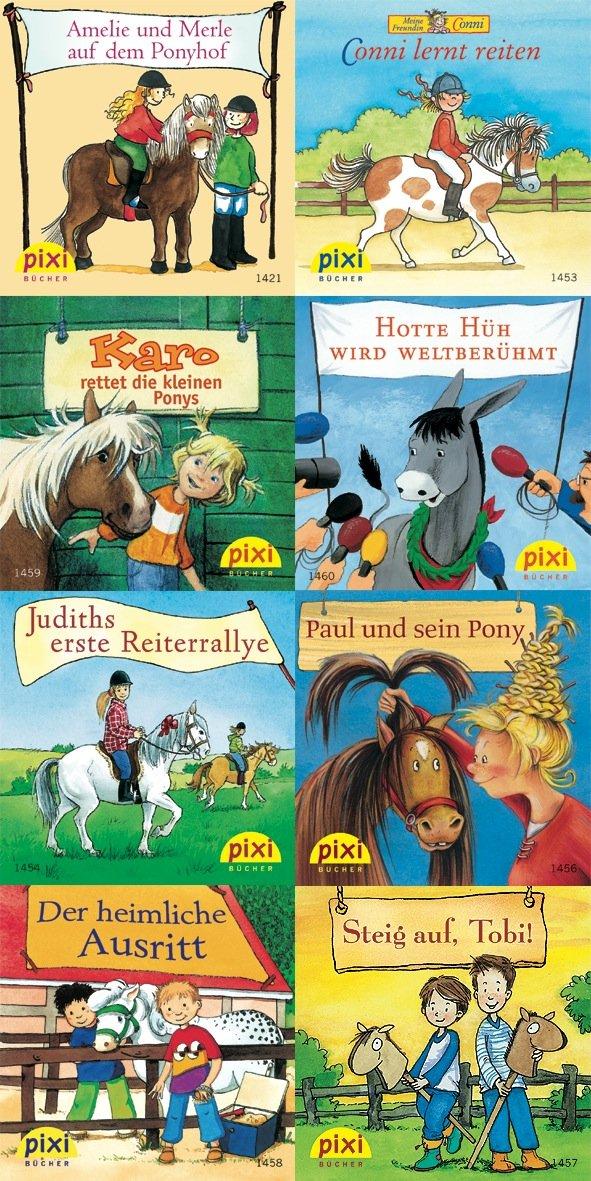 Pixi-Bundle 8er Serie 163: Pixi auf dem Ponyhof