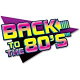 Back To The 80s Wall Sign - Single