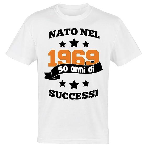 My Digital Print - Camiseta para Hombre cumpleaños 50 años ...