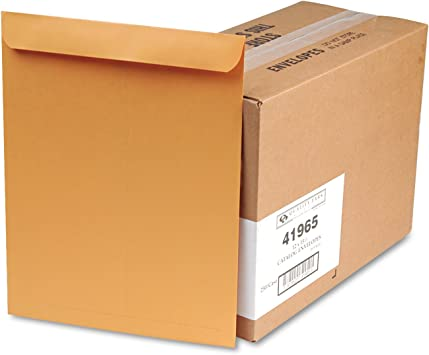 Quality Park Large Format//Catalog Envelopes Box 250 9 x 12 inches