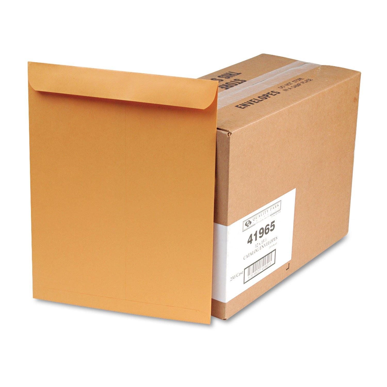 Columbian CO695 12x15-1/2-Inch Catalog Brown Kraft Envelopes, 250 Count