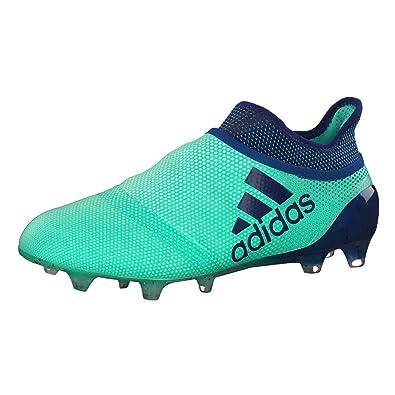 best loved 2e41f f5dcb adidas X 17+ FG, Chaussures de Football Homme, Vert Aergrn uniink