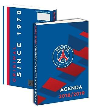 Agenda scolaire PSG 2018 / 2019 - Collection officielle PARIS Saint GERMAIN - Rentrée scolaire