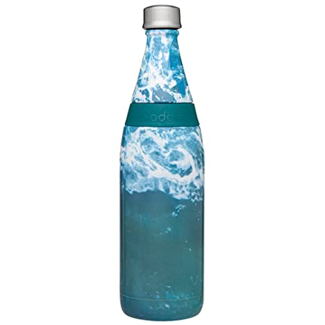 Aladdin Fresco Twist Go Vacuum Bottle 20 Oz Waves