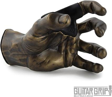 Silver Metallic GuitarGrip LHGH-101 Male Standard Grip Left-Handed