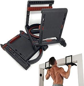 Jayflex Fitness RYZE-UPS - Pull Up Bar Handles, Doorframe Pull-up Bar, Home and Travel Doorway Gym