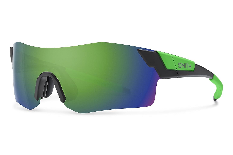 Smith ancmgmmbr Herren Matt Schwarz Rahmen grÜn Objektiv Sport-Sonnenbrille