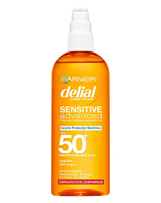 Garnier Delial Aceite Spray Sensitive Advanced - 150 ml
