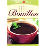 Healthwise- Beef Bouillon Soup| Healthy Nutritious Diet Soup | High Protein, Low Calorie, Low Fat, Low Carb, Low Sugar (7/Box
