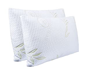 Bamboo Sleep - Ultra Cool Bamboo Memory Foam Pillow