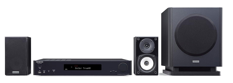 ONKYO シネマパッケージ 2.1ch/ハイレゾ音源対応/4K対応/AirPlay対応 ブラック BASE-V60(B) 【国内正規品】 B01M9A2SJ8  単品