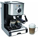 Capresso EC100 Semi Automatic Pump Espresso and Cappuccino Machine (Certified Refurbished)
