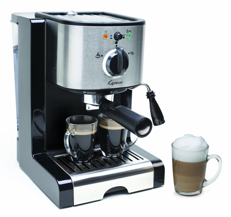 Capresso EC100 Semi Automatic Pump Espresso and Cappuccino Machine (Renewed) by Capresso