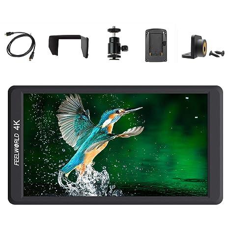 Feelworld FW570 5.7 pulgadas IPS Full HD 1920 x 1080 apoyo 4 K ...