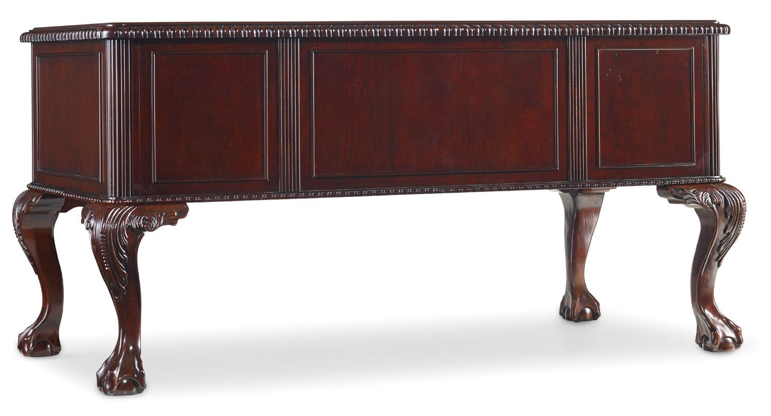 Amazon.com: Hooker Furniture Ball And Claw Writing Desk In Dark Cherry:  Kitchen U0026 Dining