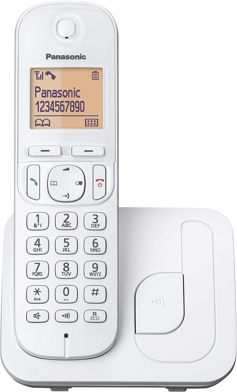 Panasonic KX-TGC210 - Teléfono Fijo Inalámbrico Digital (LCD 1.6