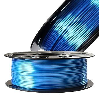Filamento para impresora 3D Silk Sapphire Blue PLA satinado ...