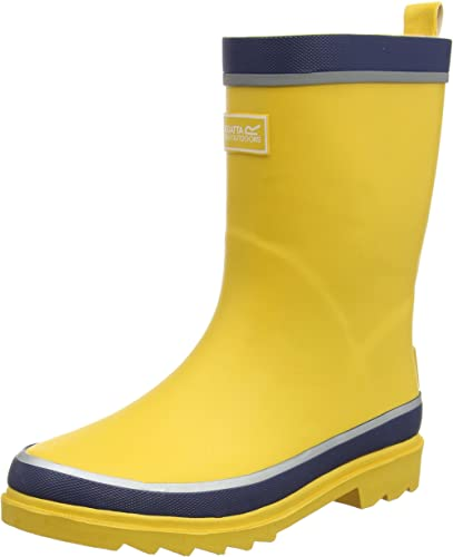 Regatta Boys /& Girls Foxfire Junior Rubber Wellington Boots