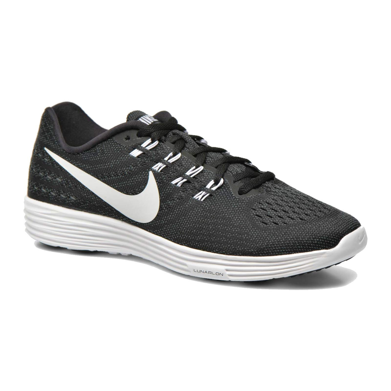 best sneakers a1912 dc7f5 Galleon - Nike Womens Lunartempo 2 Black White Anthracite Running Shoe 6  Women US