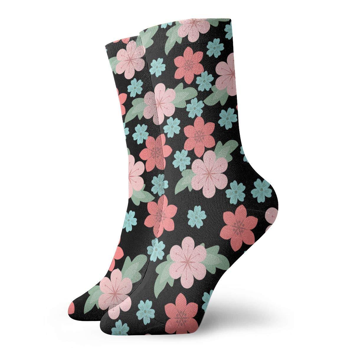 Flower Plants Unisex Funny Casual Crew Socks Athletic Socks For Boys Girls Kids Teenagers