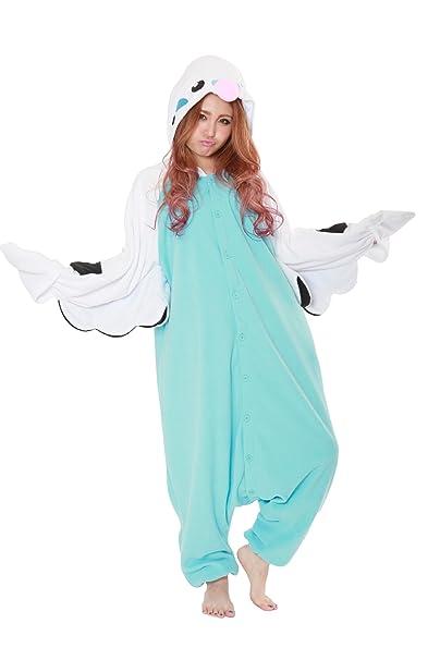 Fleece Pijama Kigurumi - Periquito (Azul)