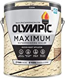 Olympic Stain Maximum Deck Stain, Clear, 1-Gallon