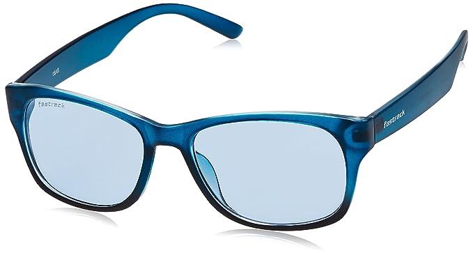 db2ffc4b69 Fastrack UV Protected Wayfarer unisex Sunglasses (PC001BU12