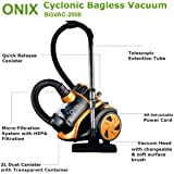 SCENIC Onix CYCLONIC BAGLESS Vacuum Cleaner DUST Canister HEPA 12