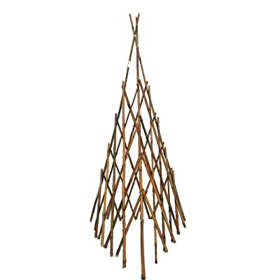 MGP Natural Bamboo Pole Tepee : Garden & Outdoor