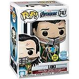 Funko Pop! Marvel: Avengers Endgame - Loki with Glow-in-The-Dark Tesseract