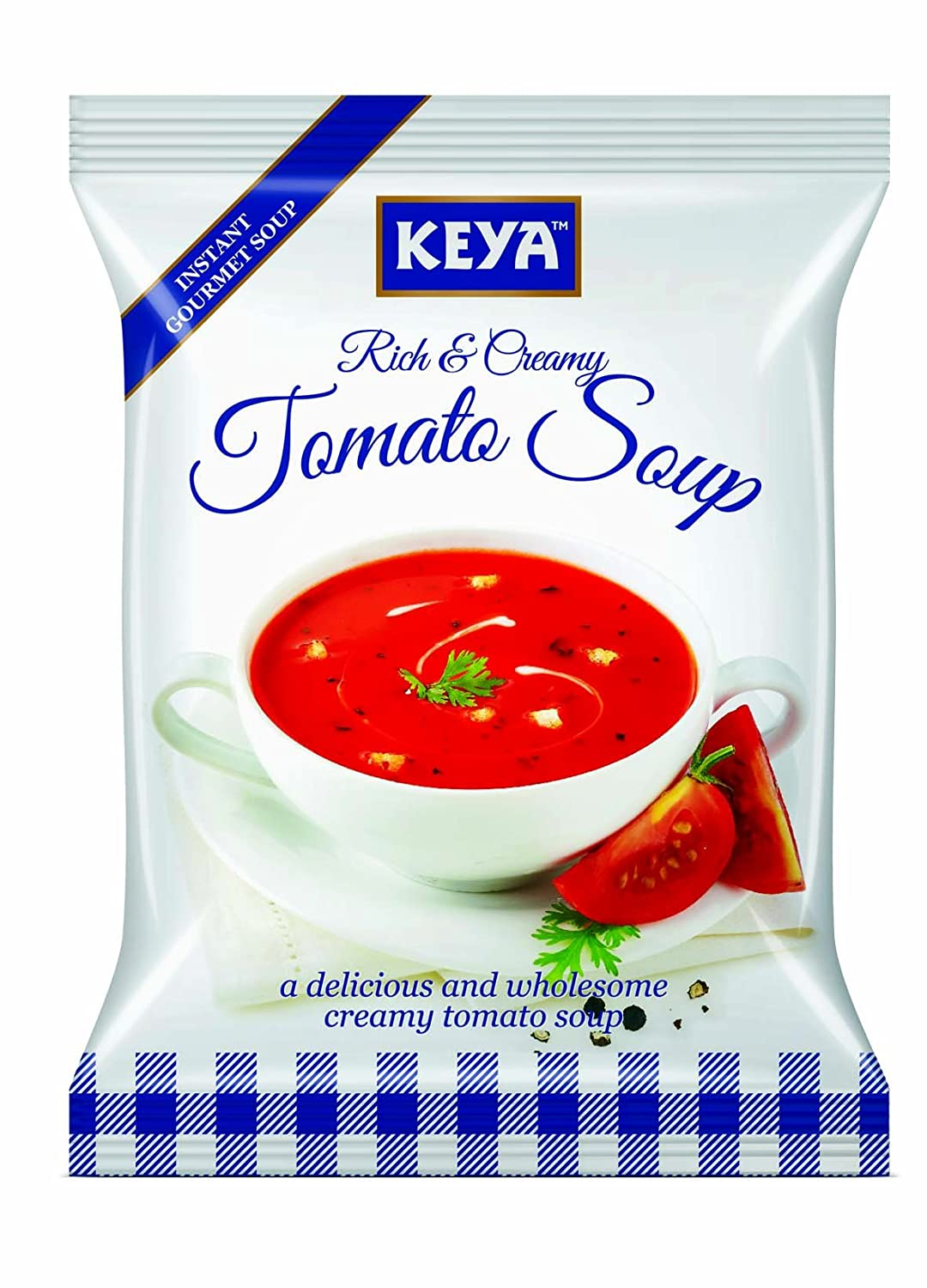 Keya Instant Soup Creamy Tomato 60g Four Serve Amazon In Grocery Gourmet Foods