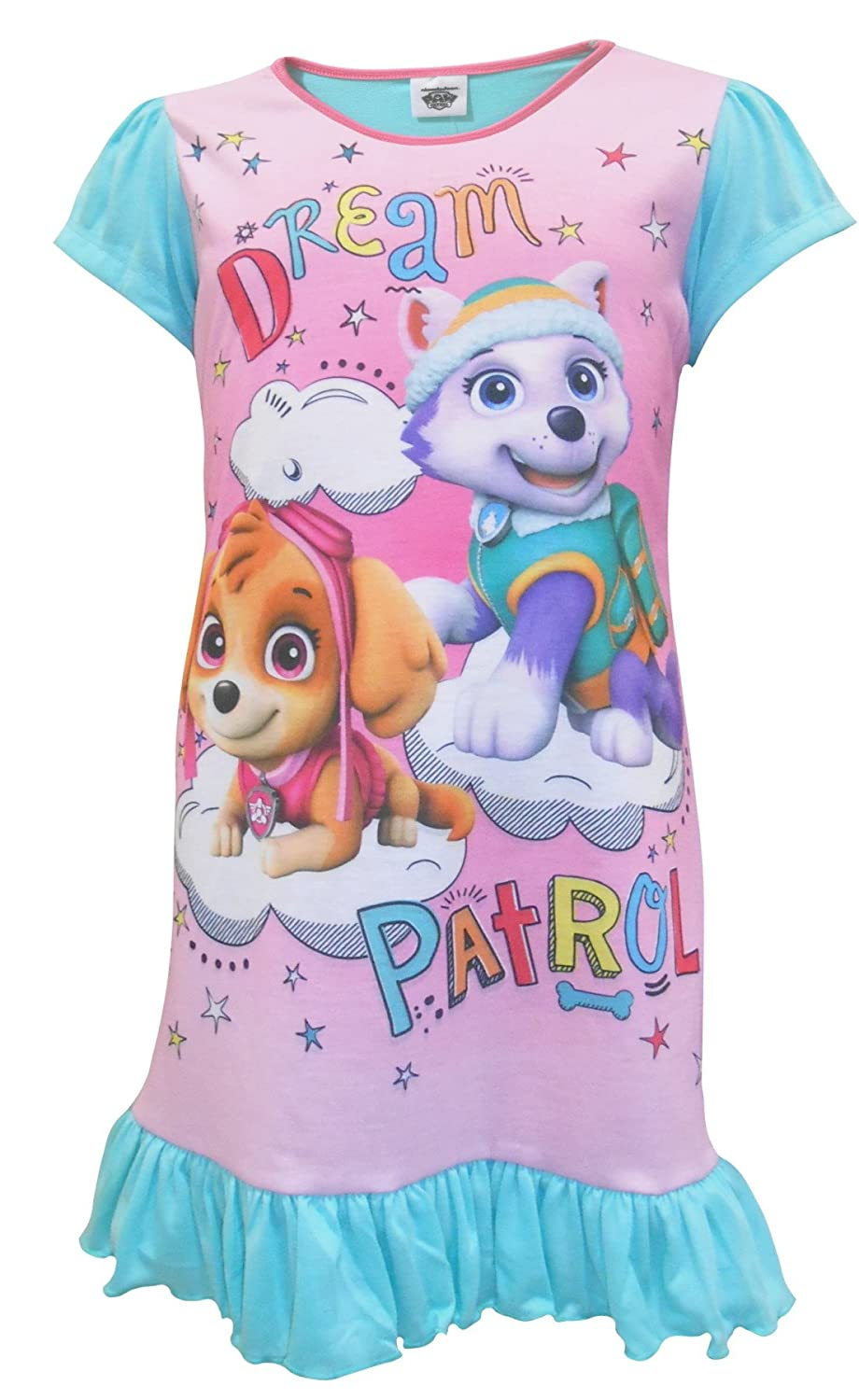 TDP Textiles Paw Patrol Little Girls Nightie Nightdress