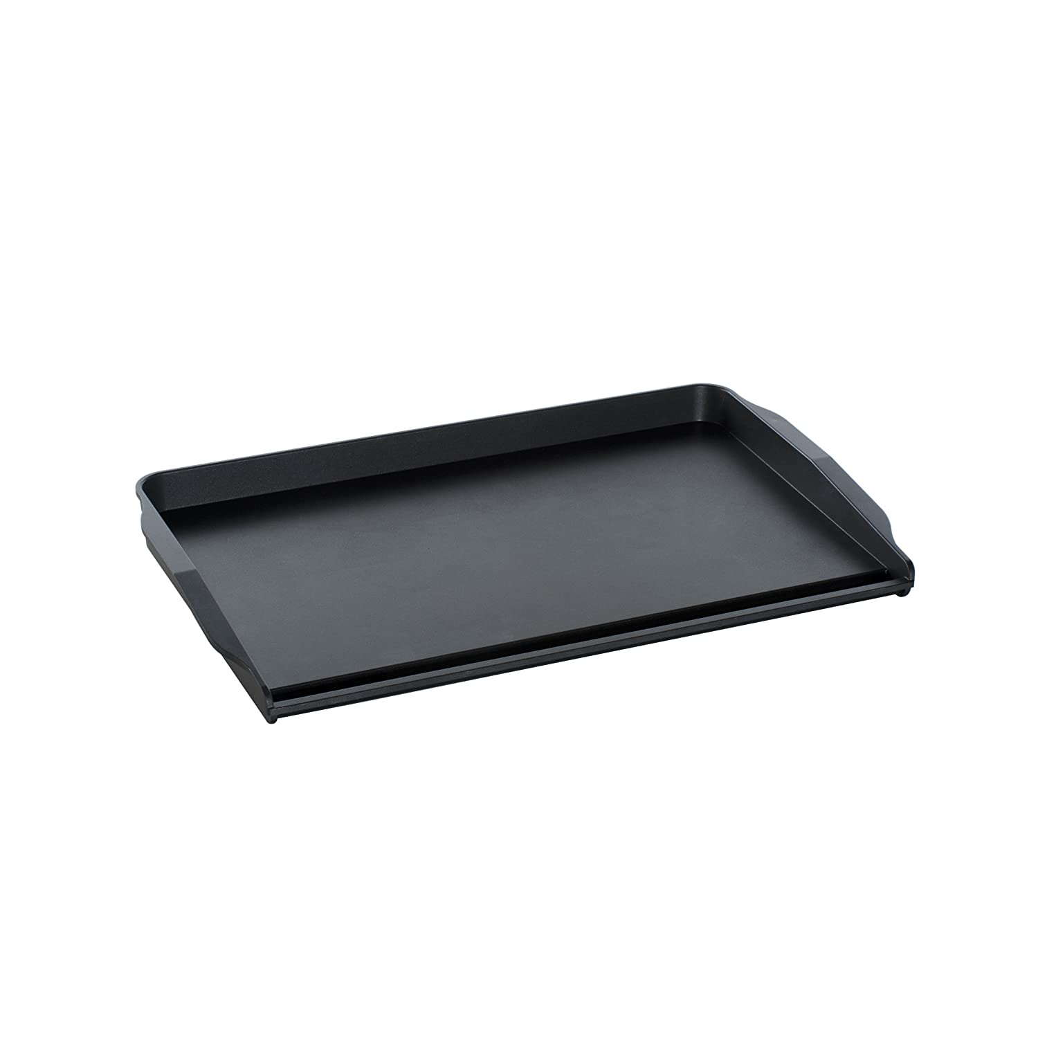 Nordicware 41475 Double Backsplash Griddle, Black Nordic Ware 19862AMZ