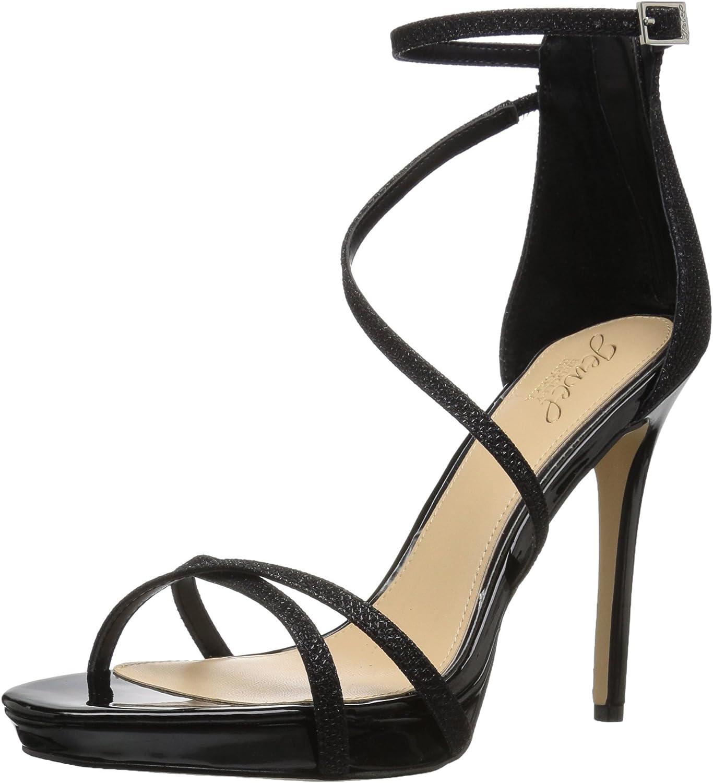 Jewel Badgley Special Campaign Mischka Women's Sandal Heeled Galen Deluxe