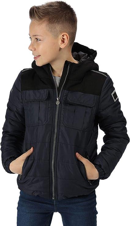 Regatta Kid's 'Pasco' Insulated Reflective Jacket Baffled/quilted,Regatta