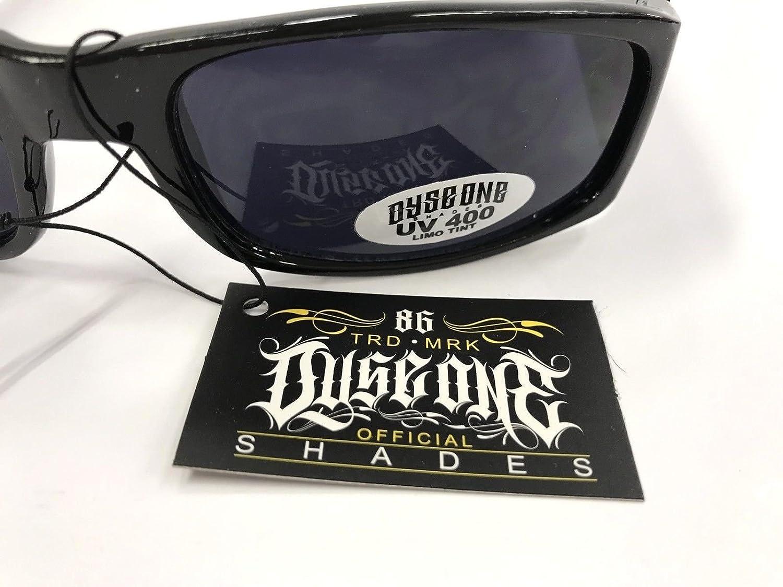 Dyse One Shades Pit Bull Impala Black Grey Sunglasses California Lowrider Style