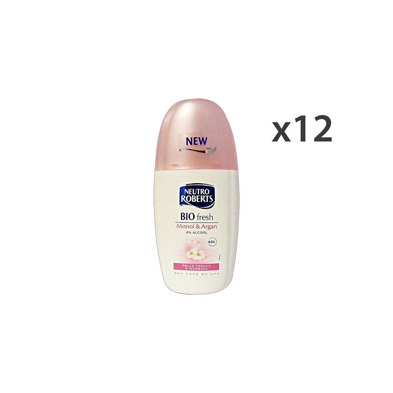 NEUTRO ROBERTS Set 12 Vapo Deodorant Fresh Monoi Bio-Argan 75 Ml. Körperpflege