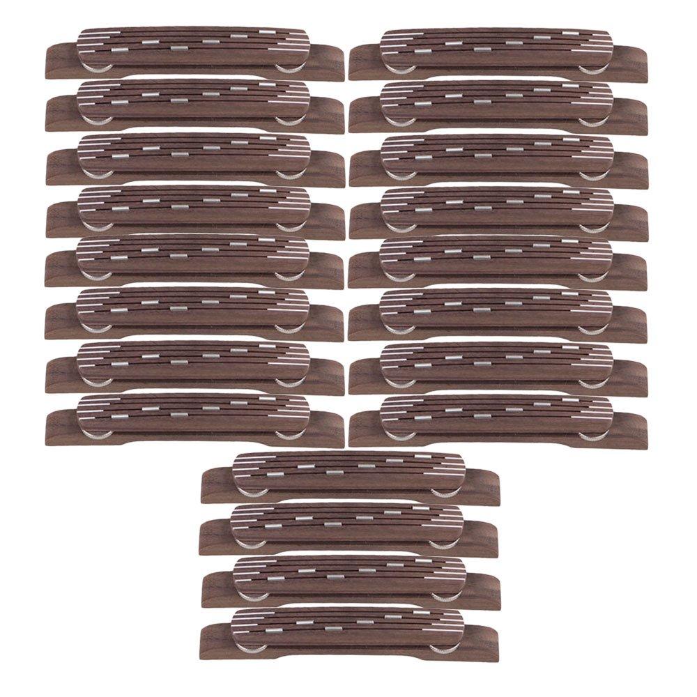 新品本物 Yibuy 20個入れ 褐色 20個入れ ローズウッド 褐色 高さ調整可能なブリッジフローティング 6弦ジャズギターのため B071DGM9DP B071DGM9DP, お祝い内祝引出物専門店 カシタニ:c21d7803 --- egreensolutions.ca
