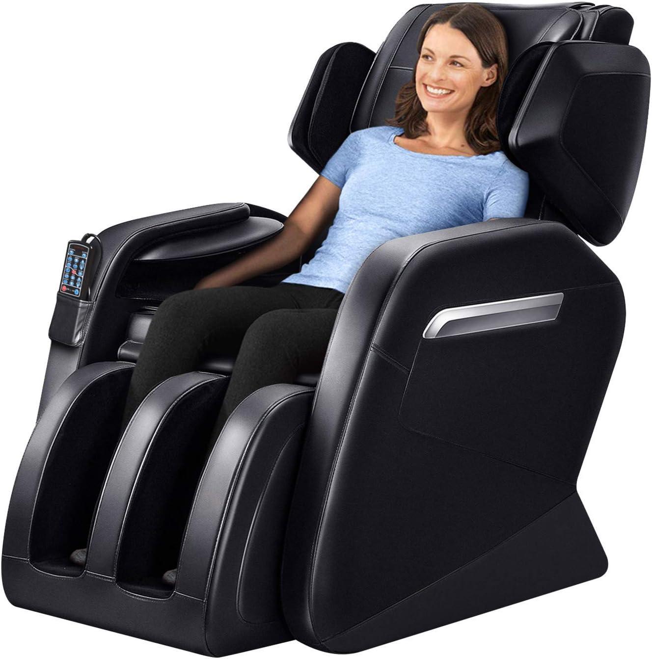 Massage Chair Recliner, Zero Gravity Full Body Shiatsu Luxurious Electric Massage Chair