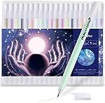 Gold Silver White Gel Pen Set for Artist, Ohuhu 10 Colors