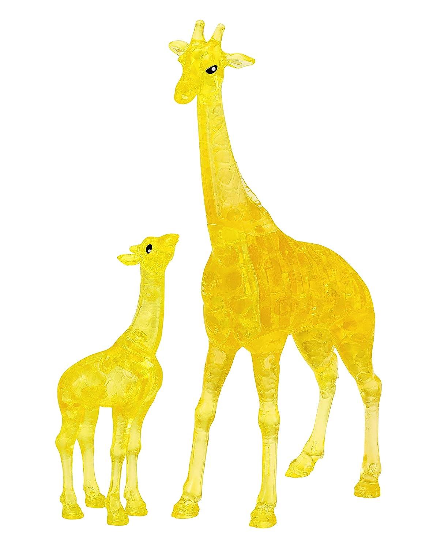 Bepuzzled 31077 Original 3D Crystal Puzzle - Giraffe & Baby: 38 Pieces