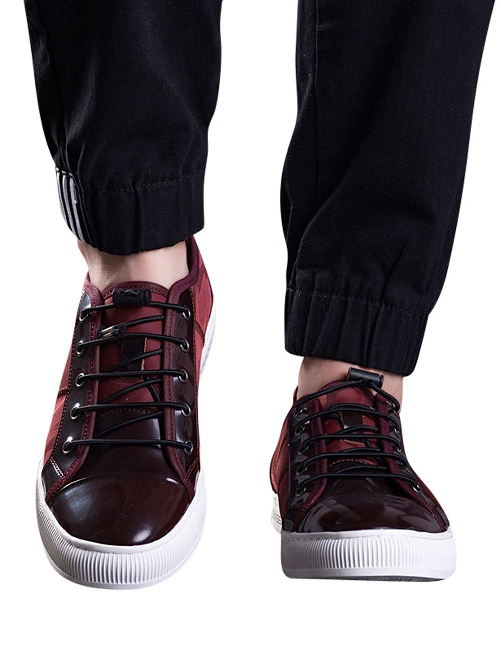 separation shoes a3aea 39fc0 Menschwear Herren Schnuumlr Echtleder Sportschuhe Outdoor Leicht und  Atmungsaktiv Sneaker Runder Zeh 47 EU