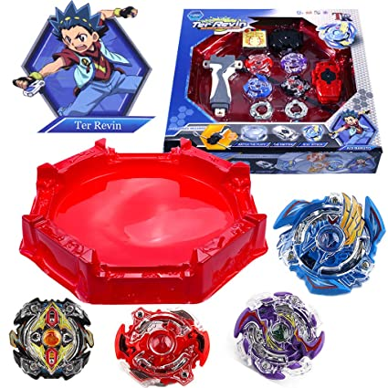 Beyblades battle toys metal fusion burst Starter Set Launcher Ripcord-any 2 box