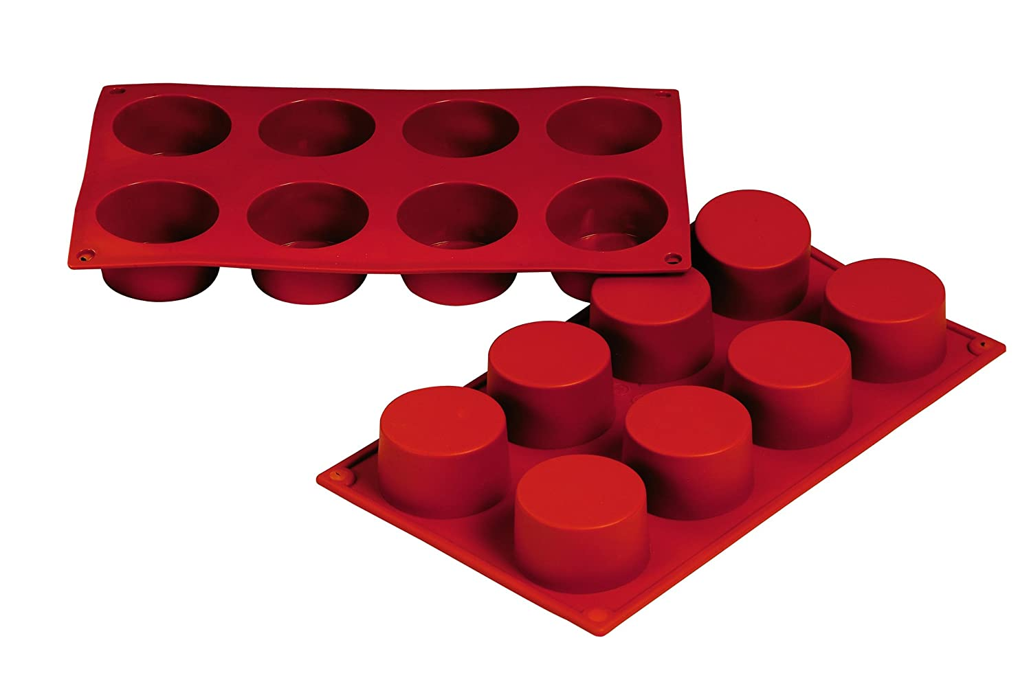 Fat Daddio's 3-Ounce Silicone Bakeware, Cylinder Fat Daddio' s SMF028